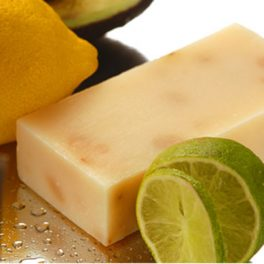 West Indian Lemon, Lime, Avocado & Leatherwood Honey Soap