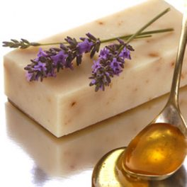 Tasmanian Lavender Flower & Leatherwood Honey Soap