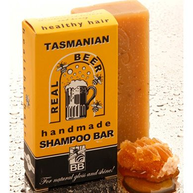 Tasmanian Beer Shampoo Bar