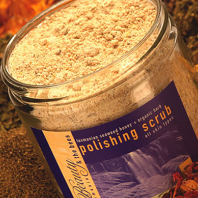 Seaweed, Honey & Herb Polishing Scrub. DISCONTINUED. Watch this space for a new improved version.