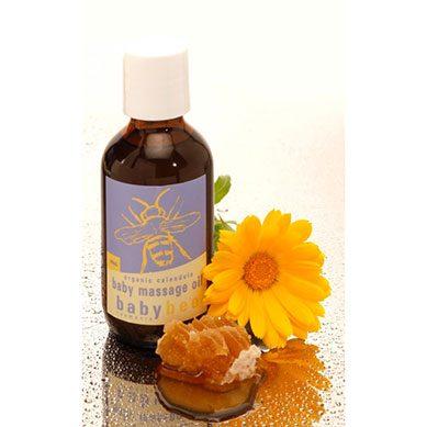Baby Bee Organic Calendula Massage Oil
