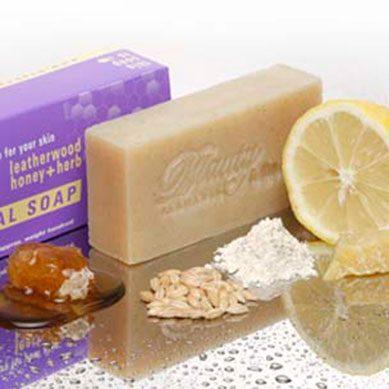 Callington Mill Lemon Barley & Honey Smoother Soap