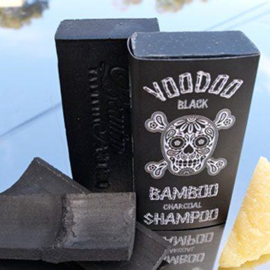 Voodoo Bamboo Charcoal Shampoo Bar
