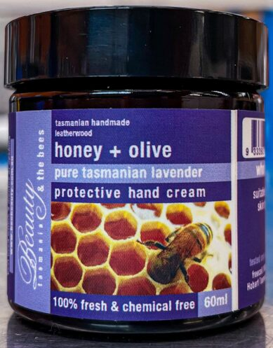 Honey & Olive Pure Tasmanian Lavender Protective Hand Cream 60ML