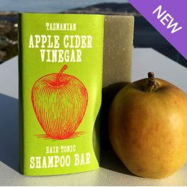 Tasmanian Apple Cider Hair Tonic Shampoo Bar