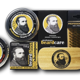BIG BEARD GROOMING KIT - SOLID BEARD SHAMPOO BAR, CONDITIONER BAR, BALM & BRUSH
