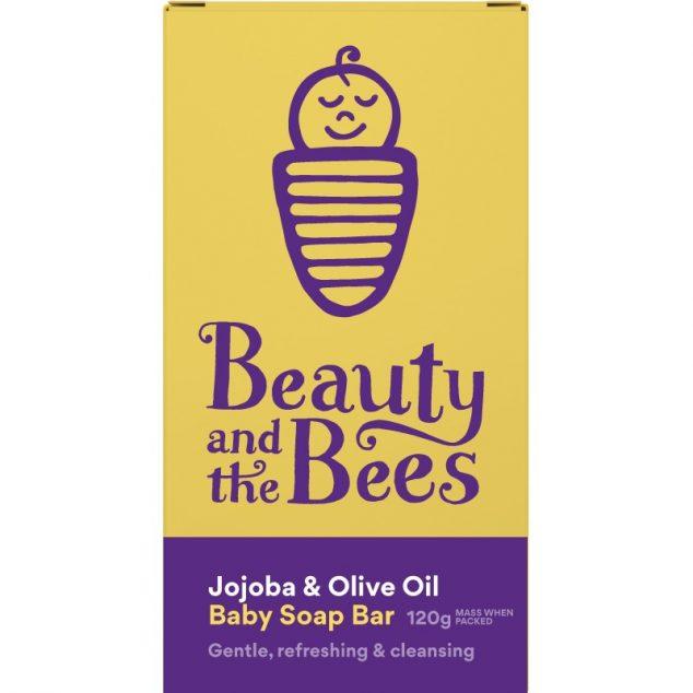 Jojoba & Olive Oil Baby Soap Bar