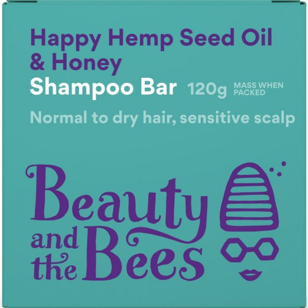Happy Hemp Seed Oil & Honey Shampoo Bar