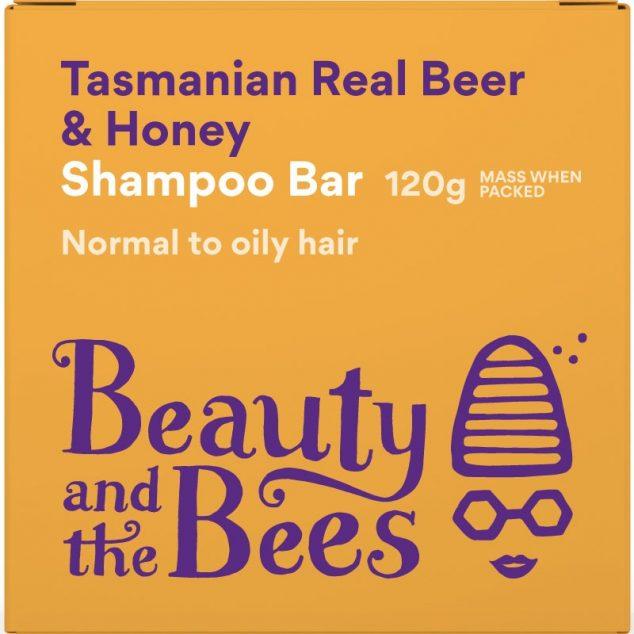 Tasmanian Real Beer & Honey Shampoo Bar (Ginger, cinnamon, nutmeg)