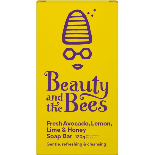 Fresh Avocado Lemon Lime & Honey Soap Bar