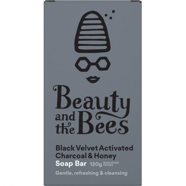 Black Velvet Activated Charcoal & Honey Soap Bar