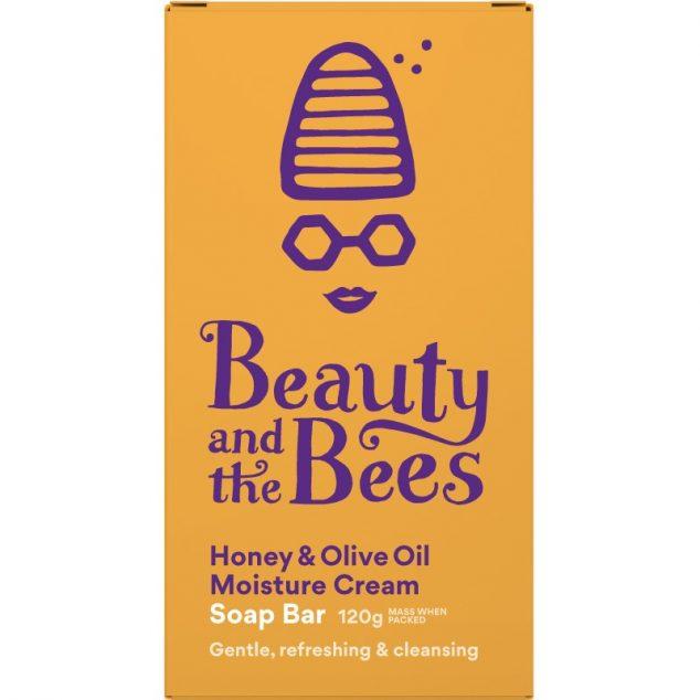 Honey & Olive Oil Moisture Cream Soap Bar