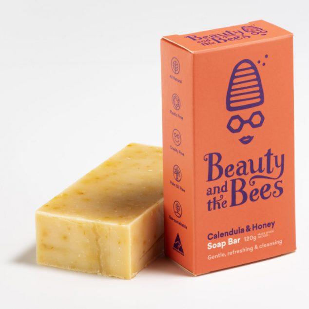 Calendula Honey Soap Bar