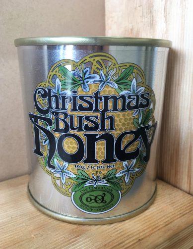 Christmas Bush Honey Tin 350g