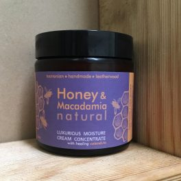Honey and Mac Moisture Cream new label