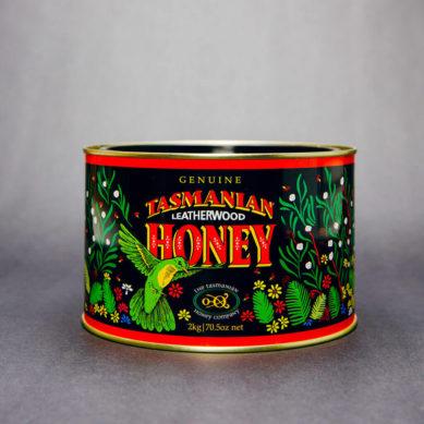 Leatherwood Honey Tin 2kg