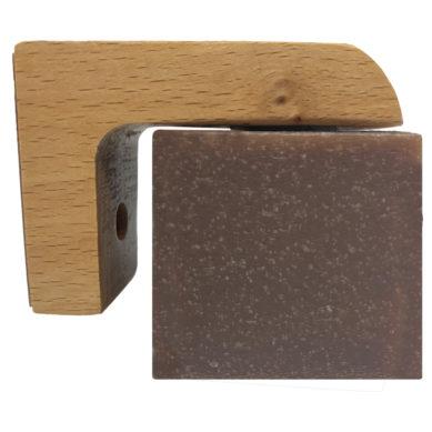 Professor Edward J Fuzzworthy's Magnetic Soap Holder Beech Wood