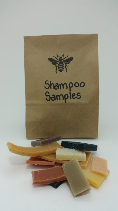 Mixed Shampoo Bar APPROX. 1 kg Sample Bags