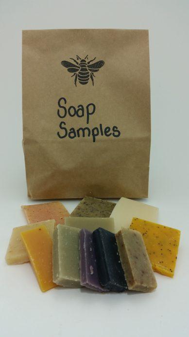 Mixed Soap Bar 1 kg Sample Bags
