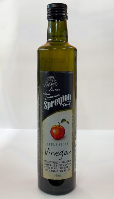 NEW: Spreyton Apple Cider Vinegar 500ml