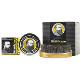 LIMITED EDITION BEARD KIT & BEARD BRUSH