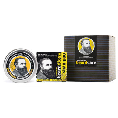 SOLID BEARD SHAMPOO BAR & BEARD BALM GLOSS PACK.
