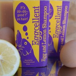 Eggcellent Egg & Lemon Shampoo Bar. SORRY THIS PRODUCT HAS BEEN DISCONTINUED WITH LOTS OF NEW PRODUCTS COMING SOON!