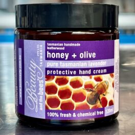 Honey & Olive Pure Tasmanian Lavender Protective Hand Cream 120ML
