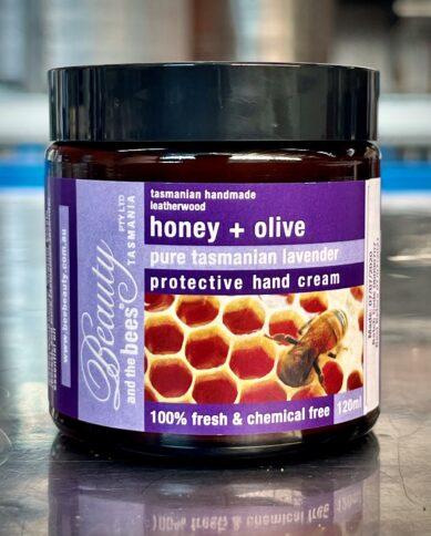 Honey & Olive Pure Tasmanian Lavender Protective Hand Cream 120ML