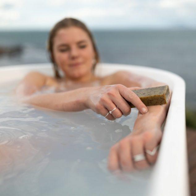 Tasmanian Seaweed Green Tea & Honey Scrub Soap Bar