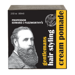 Professor Fuzzworthy Gentlemans Honey Mud Cream Styling Pomade 60ml